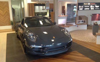 Porsche Event bei Augustat Parkett