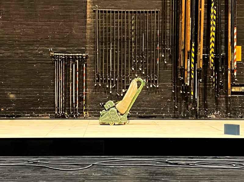 Bühnenboden Sanierung